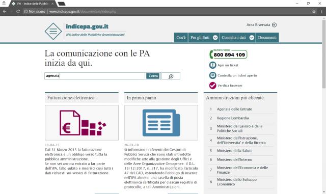Dove cercare le informazioni sulle Pubbliche Amministrazioni